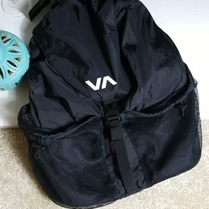 RVCA Black Backpack New With Tag